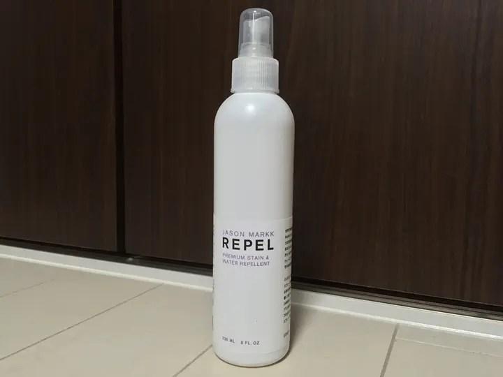 【レビュー】強力な防水(撥水)スプレー「ジェイソン マーク リペル」 (JASON MARKK REPEL Waterproof Spray)