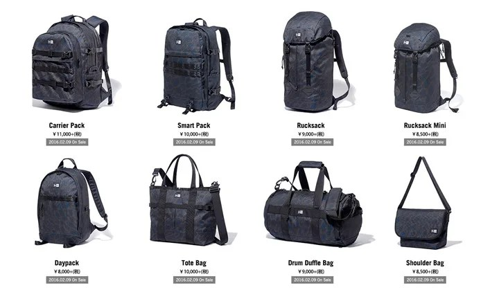 2/9発売! New Era Black Leopard Bag&Packs (ニューエラ ブラック レオパード)