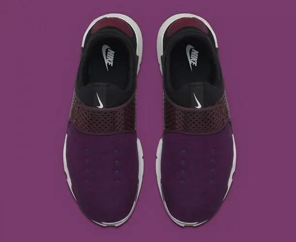 フリース素材のナイキ ソックダート パープルが近日発売予定! (NIKE SOCK DART FLEECE Purple)
