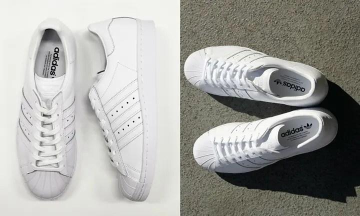 オールホワイトのアディダス オリジナルス スーパースター 80sが3月中旬発売! (adidas Originals SUPERSTAR 80s All White)