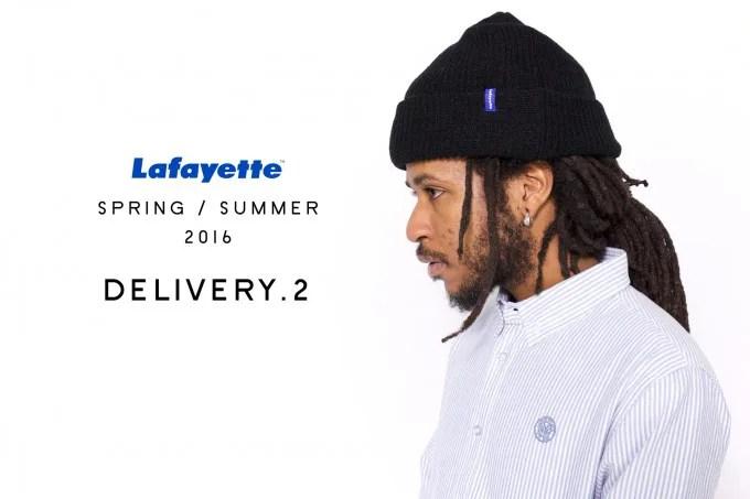 Lafayette 2016 SPRING/SUMMER COLLECTION アイテムが2/13からスタート!(ラファイエット)