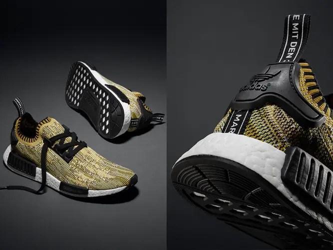 """【国内2/20発売】adidas Originals NMD_R1 """"Yellow Gold"""" (アディダス オリジナルス エヌ エム ディー ランナー """"イエロー ゴールド"""") [S42131]"""