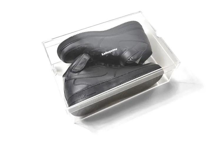 Lafayetteからオリジナル アクリル製 スニーカー クリアボックスが2/20から発売! (ラファイエット sneakers clear box)
