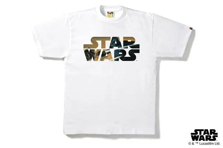 A BATHING APE × STAR WARSコラボ!ダースベイダーが決闘を演じるシーンをイメージした「STAR WARS CONCEPT ART TEE」が3/5発売!(エイプ スターウォーズ)
