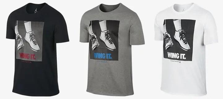 "NIKE US 発売!ナイキ ショーダン AJ ""ウィング イット"" Tシャツ 他カラー (NIKE JORDAN AJ ""Wing It"" TEE) [725017-010,063,100]"