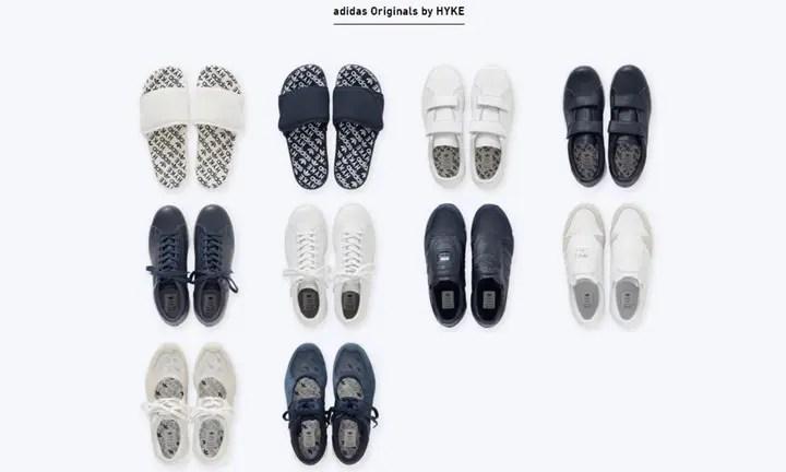 【4店舗限定】adidas Originals by HYKE 2016 SPRING/SUMMERが3/9から世界に先駆け先行発売!(アディダス オリジナルス ハイク)
