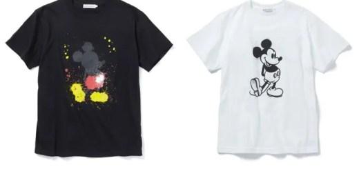SILAS × MICKEY MOUSEのスペシャルコラボ!ドリップ & ステンシル調で仕上げたTEEが発売! (サイラス ミッキーマウス)