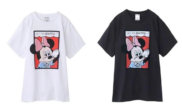涙を流すミニー × X-girl オリジナルイラスト 「CRY MINNIE S/S TEE」が5月中旬発売! (エックスガール)