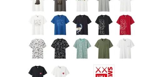 """【国内4/29発売】ニューヨーク・グローバルアーティスト""""KAWS"""" × UNIQLO COLLETION (カウズ ユニクロ)"""