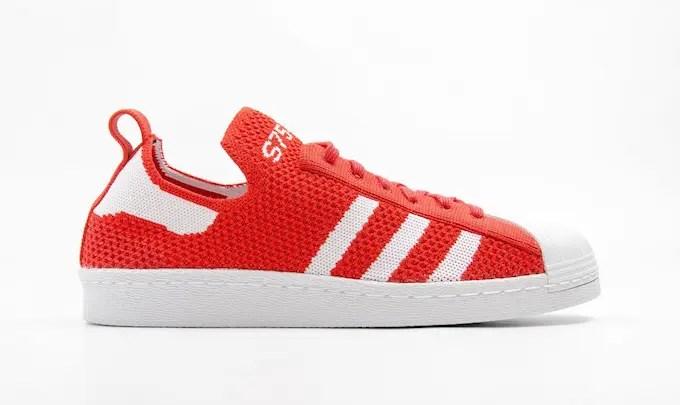 """海外展開!adidas Originals SUPERSTAR 80s PRIMEKNIT """"Red/White"""" (アディダス オリジナルス スパースター 80s プライムニット """"レッド/ホワイト"""") [S75427]"""