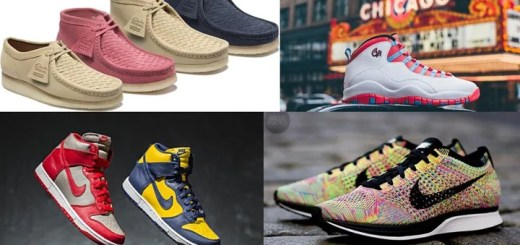 "【まとめ】5/14発売の厳選スニーカー!(SUPREME x Clarks)(NIKE DUNK HIGH RETRO ""MICHIGAN"" ""UNLV"" QS)(NIKE AIR JORDAN 10 RETRO ""CHICAGO"")(ROSHE LD-1000 PREMIUM QS)他"