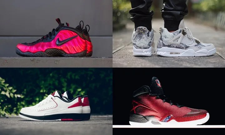 "【まとめ】5/21発売の厳選スニーカー!(NIKE AIR FOAMPOSITE PRO ""UNIVERSITY RED"")(JORDAN 4 PREMIUM ""LIGHT BONE"")(AIR JORDAN XXX ""Gym Red"")(AIR JORDAN 2 LOW ""Bred"")他"