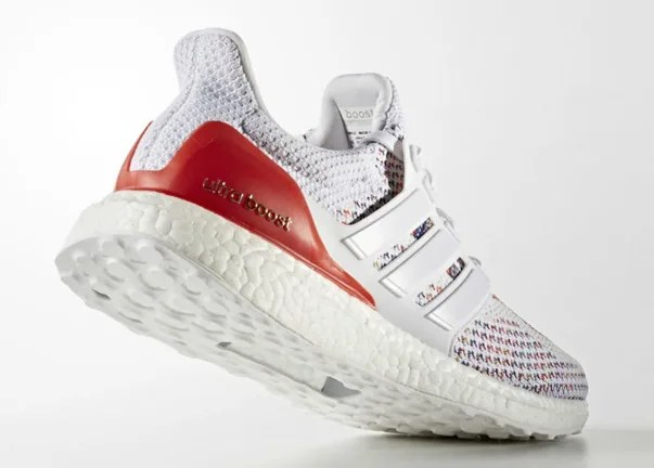 """アディダス ウルトラ ブースト """"ホワイト/レッド"""" (adidas ULTRA BOOST """"White/White-Red"""")"""