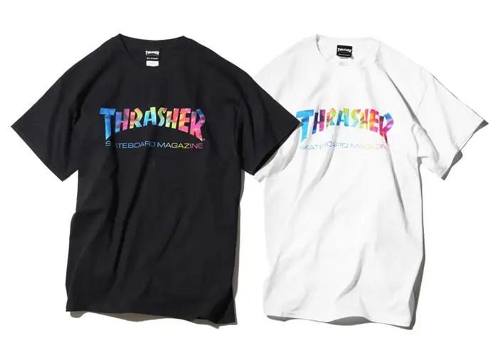 ロゴがタイダイカラーのTHRASHER MAG TD TEEが発売! (スラッシャー マグ Tie Dye)