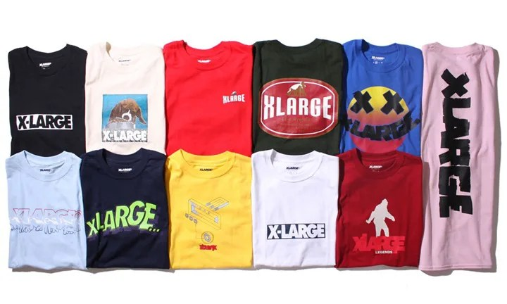 X-large REISSUE T-SHIRT COLLECTIONが6/10から発売! (エクストララージ リイシュー ティーシャツ コレクション)