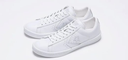 "White atelier BY CONVERSE限定!PRO-LEATHER OX ""ALL WHITE""が7/16から先行発売! (ホワイト アトリエ バイ コンバース プロレザー ""オールホワイト"")"