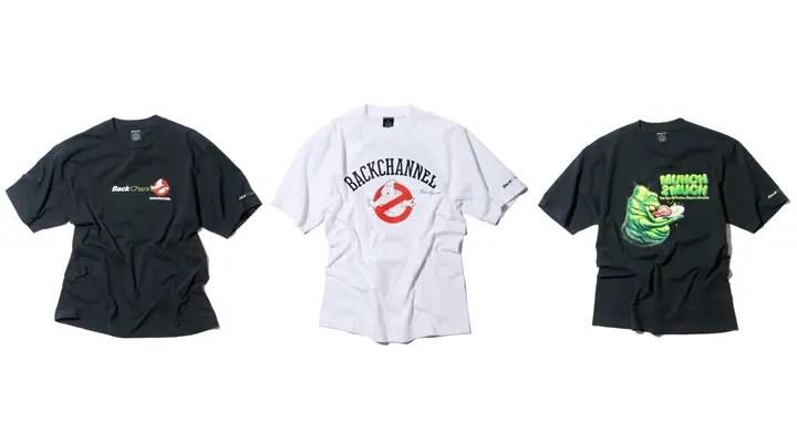 Back Channel × Ghostbusters コラボTEEが好評発売中! (バックチャンネル ゴースト バスターズ)