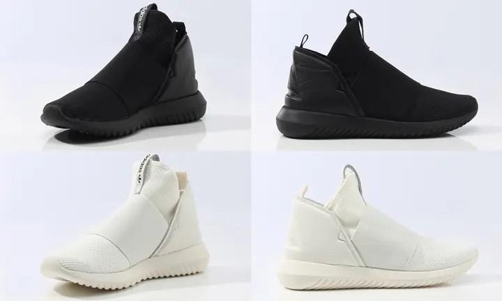 2016年 秋冬モデル!アディダス オリジナルス ウィメンズ チュブラー デファイアント T 2カラー (adidas Originals WMNS TUBULAR DEFIANT T) [BA8633][BB4234]