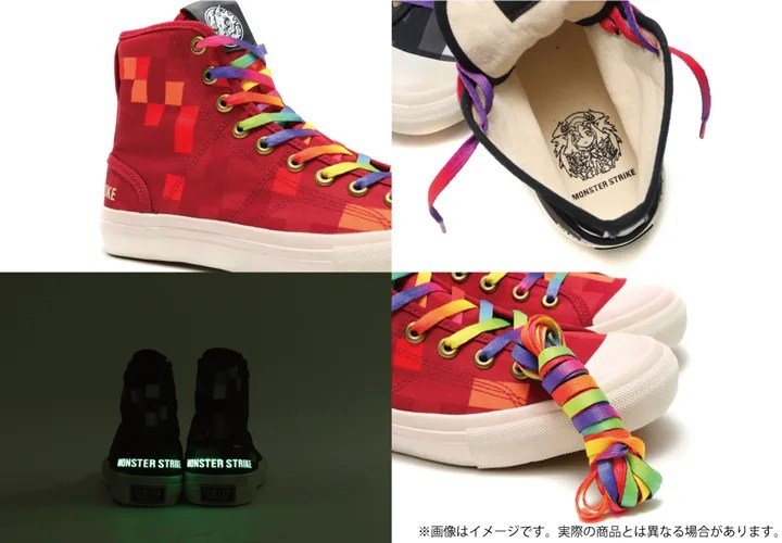 UBIQ × モンスターストライク コラボ スニーカーが9/26発売! (ユービック モンスト MONSTER STRIKE)