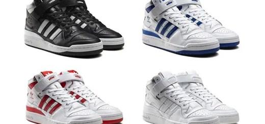 """海外9月発売予定!adidas Originals FORUM MID """"REFINED"""" 4カラー (アディダス オリジナルス フォーラム ミッド """"リファインド"""") [F37829,30,31,32]"""