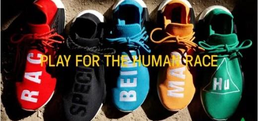 """【国内9/29発売】Pharrell Williams x adidas Originals NMD_R1 """"HUMAN RACE"""" 5カラー (ファレル・ウィリアムス アディダス オリジナルス エヌ エム ディー アール ワン """"ヒューマン レース"""") [BB0616,0618,0620,3068,3070]"""