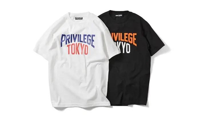 東京限定!PRIVILEGEから某読売チームカラーをサンプリングしたTEEが発売! (プリビレッジ)