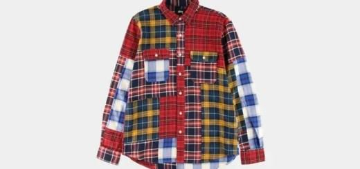 オーバーチェックを中心に多彩なパターンをパネルごとに組み合わせオリジナルパターンを創出したSTUSSY Mixed Plaid Shirtが展開! (ステューシー ミックス プレイド シャツ)