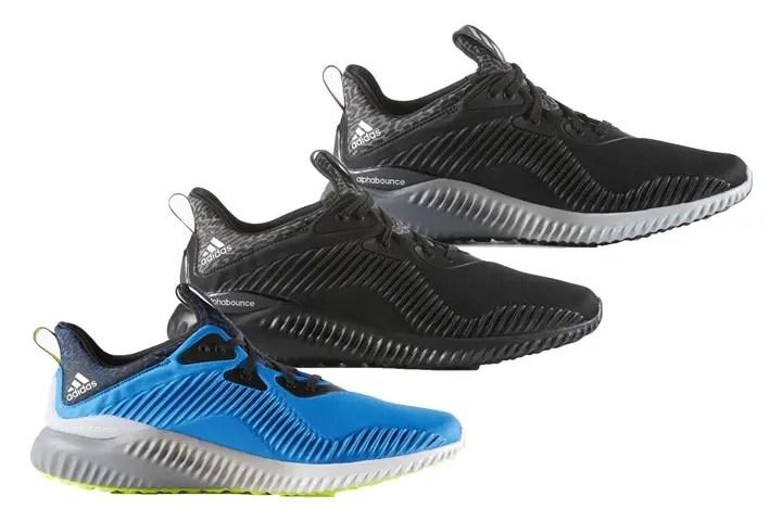 """10/10発売!adidas ALPHA BOUNCE """"Core Black/Shock Blue"""" (アディダス アルファ バウンス """"コアブラック/メタリックシルバー"""") [B42709][B42746][B54187]"""