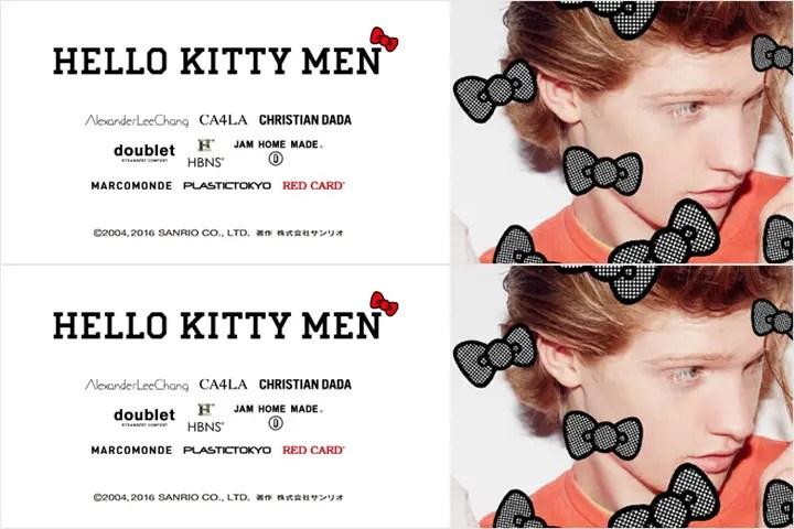 男子のための「ハローキティ」!ALEXANDER LEE CHANG、JAM HOME MADE、CA4LA等の9ブランドがコラボレーション!