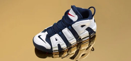 "【10/25 9:00~SNKRSで再発売】ナイキ エア モア アップテンポ ""オリンピック"" (NIKE AIR MORE UPTEMPO ""Olympic"") [414962-104]"