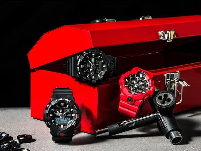 G-SHOCKからアナログ/デジタルのコンビネーションモデルにNewモデル「GA-700」が3カラーが11/4発売! (ジーショック Gショック)