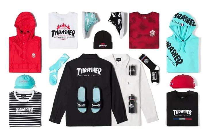 """国内11/12発売!HUF × THRASHER """"Tour De Stoops"""" COLLECTION (ハフ スラッシャー """"ツアー デェ ストゥープス"""" コレクション)"""