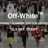 OFF-WHITE C/O VIRGIL ABLOH 2017 SPRING/SUMMER COLLECTIONが12/3展開! (オフホワイト 2017年 春夏 コレクション)