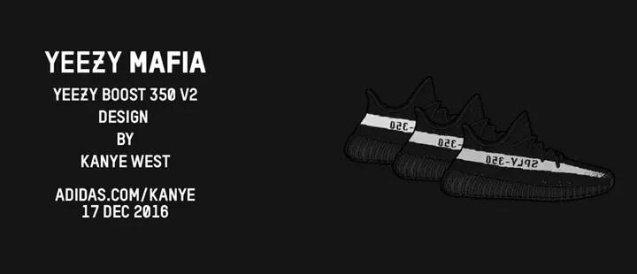 """【続報】12/17発売か?アディダス オリジナルス イージー 350 ブースト V2 """"コアブラック/コアホワイト"""" (adidas Originals YEEZY 350 BOOST V2 """"Core Black/Core White"""") [BY1604]"""
