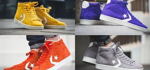 "CONVERSE PRO LEATHER 76 MID ""Heritage Suede Pack"" (コンバース プロレザー ミッド ""ヘリテージ スエード パック"")"