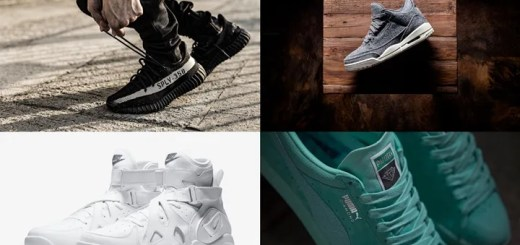 "【まとめ】12/17発売の厳選スニーカー!(adidas Originals YEEZY 350 BOOST V2 ""Black/White"")(NIKE AIR JORDAN 3 ""DARK GREY WOOL"")(DIAMOND SUPPLY CO. PUMA SUEDE)(NIKE AIR UNLIMITED RETRO ""Triple White"")他"