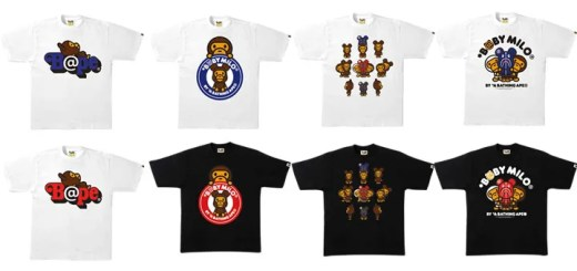 Crossover A BATHING APE × BE@RBRICK コラボアイテムが1/7発売! (ア ベイシング エイプ ベアブリック)