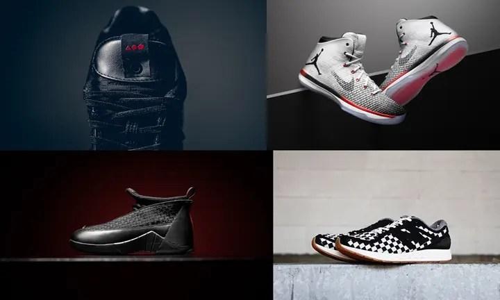 """【まとめ】1/7発売の厳選スニーカー!(SHOE GALLERY × adidas Consortium Tour CLIMACOOL 1)(NIKE AIR JORDAN XXXI """"Black Toe"""")(AIR JORDAN XV RETRO OG """"Black/Versity Red"""")(nonnative × New Balance FRESH FOAM ZANTE ML)他"""