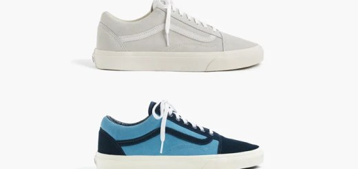 VANS FOR J.CREW OLD SKOOL SUEDE 2カラー (バンズ フォー ジェイクルー オールドスクール スエード)