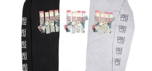 今度はロングに!日本の国技「大相撲」のグラフィックを取り入れたUNDEFEATED UKIYOE SUMO L/SL TEEが3月中旬発売! (アンディフィーテッド 浮世絵 相撲)