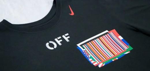 NIKE × OFF-WHITE C/O VIRGIL ABLOH コラボTEEが海外発売! (ナイキ オフホワイト)