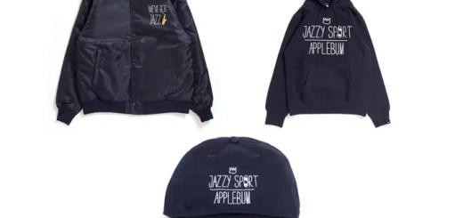 APPLEBUM × JAZZY SPORTとのコラボコレクションが2/25発売! (アップルバム ジャジースポート)