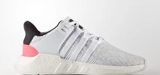 """3/23発売!アディダス オリジナルス エキップメント サポート 93/17 """"ホワイト/ターボ"""" (adidas Originals EQT SUPPORT 93/17 """"Footwear white/Turbo"""") [BA7473]"""