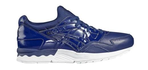 """海外展開!アシックス タイガー ゲルライト 5 """"パテントレザー"""" インディゴ ブルー (ASICS TIGER GEL-LYTE V """"Patent Leather"""" Indigo Blue) [H731Y-4949]"""