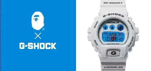 A BATHING APEからオリジナルカモ柄をバックライトとバンドにデザインしたG-SHOCK DW-6900が3/11から発売! (ア ベイシング エイプ Gショック)