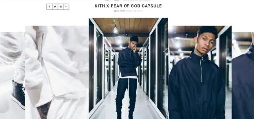 KITH × FEAR OF GOD CAPSULE COLLECTIONが展開中! (キース フィア オブ ゴッド カプセル コレクション)