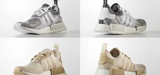 "adidas Originals NMD_R1 PRIMEKNIT {PK} ""White/Linen"" (アディダス オリジナルス エヌ エム ディー プライムニット ""ホワイト/リネン"") [BY1911][BY1912]"