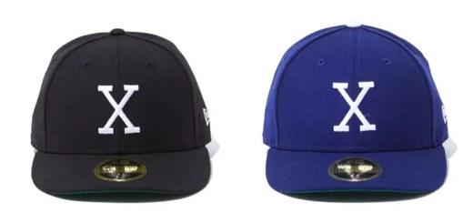 X-large × New Era 59FIFTY LOW CROWN X CAPが3/17発売! (エクストララージ ニューエラ)