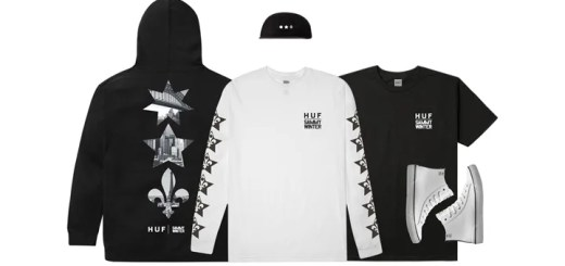 HUF × SAMMY WINTER SIGNATURE CAPSULE COLLECTIONが3/17から展開! (ハフ サミー・ウィンター)