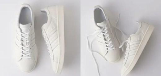 オールホワイト ヌバックアッパーのUNITED ARROWS × adidas Originals CAMPUSが4月下旬発売! (ユナイテッドアローズ アディダス オリジナルス キャンバス)
